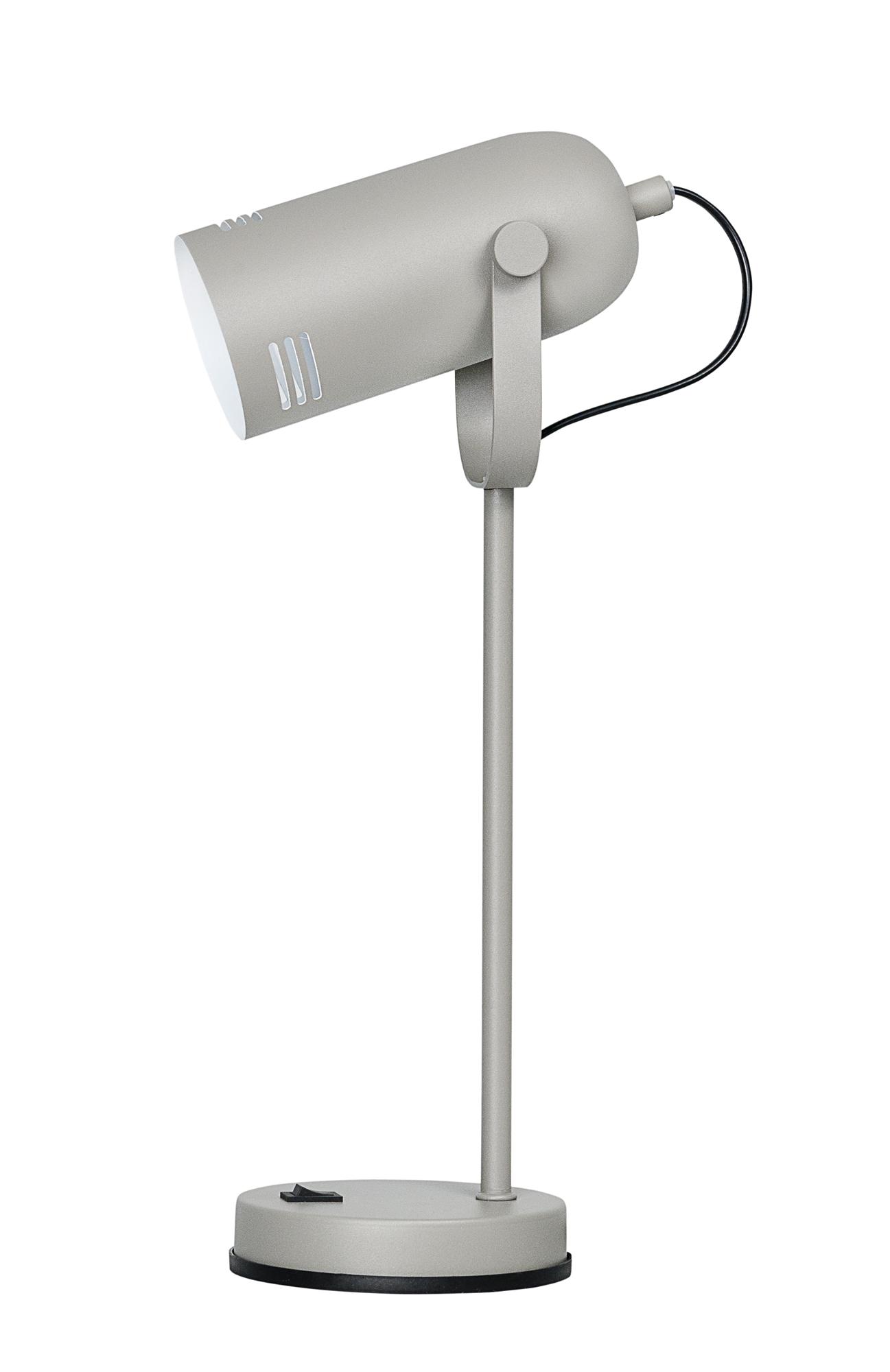 Lampka biurkowa Activejet AJE-NICOLE Grey E27