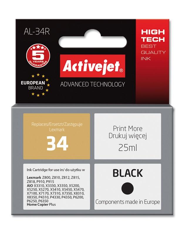 ActiveJet AL-34 tusz czarny do drukarki Lexmark