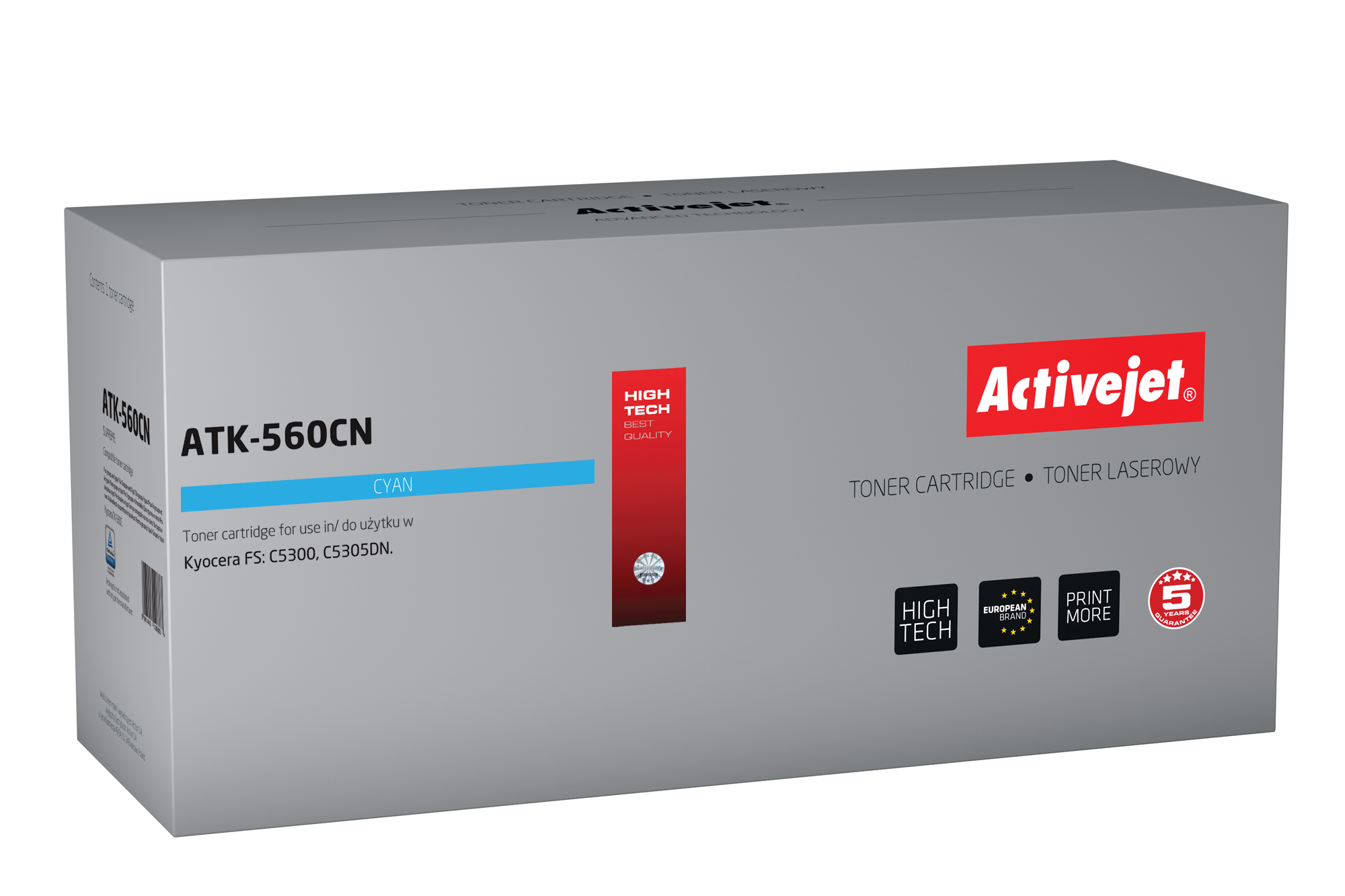ActiveJet toner do Kyocera TK-560C new ATK-560CN