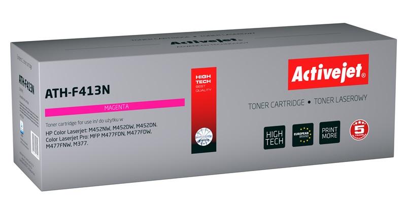 Toner Activejet ATH-F413N (do drukarki Hewlett Packard, zamiennik 410A CF413A supreme 2300str. magenta Chip)