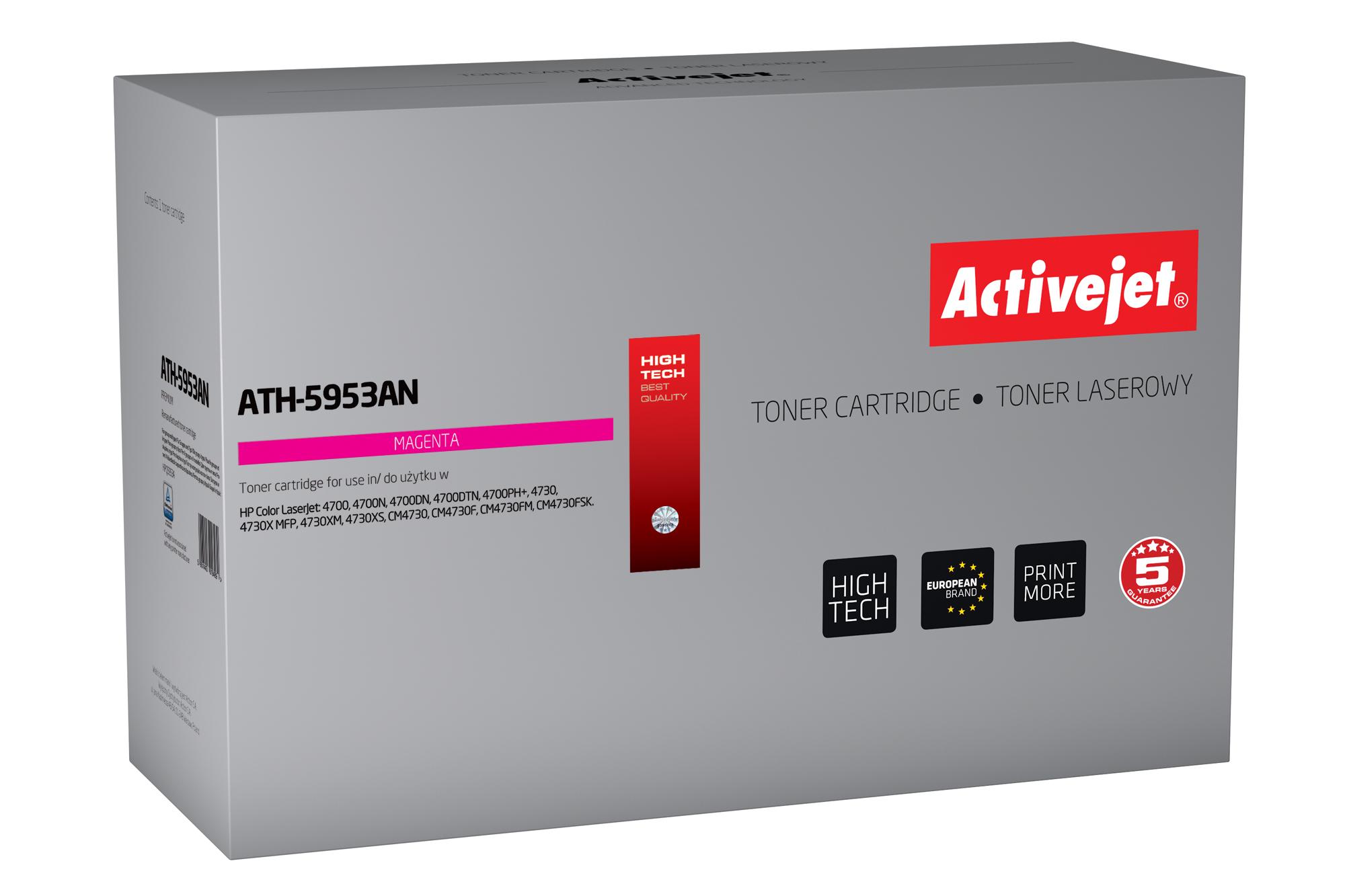 ActiveJet ATH-5953AN toner laserowy do drukarki HP (zamiennik Q5953A)