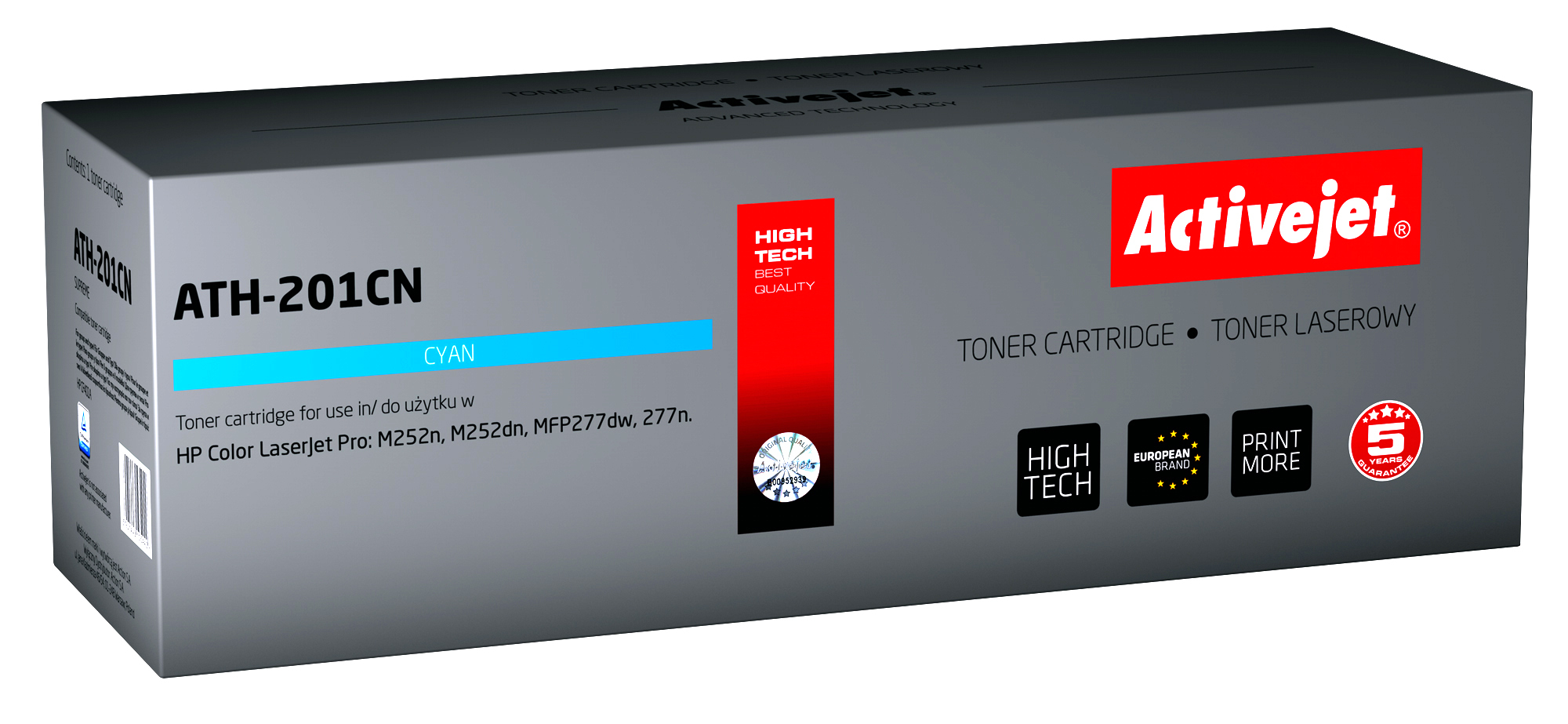 ActiveJet toner do HP CF401A new ATH-201CN