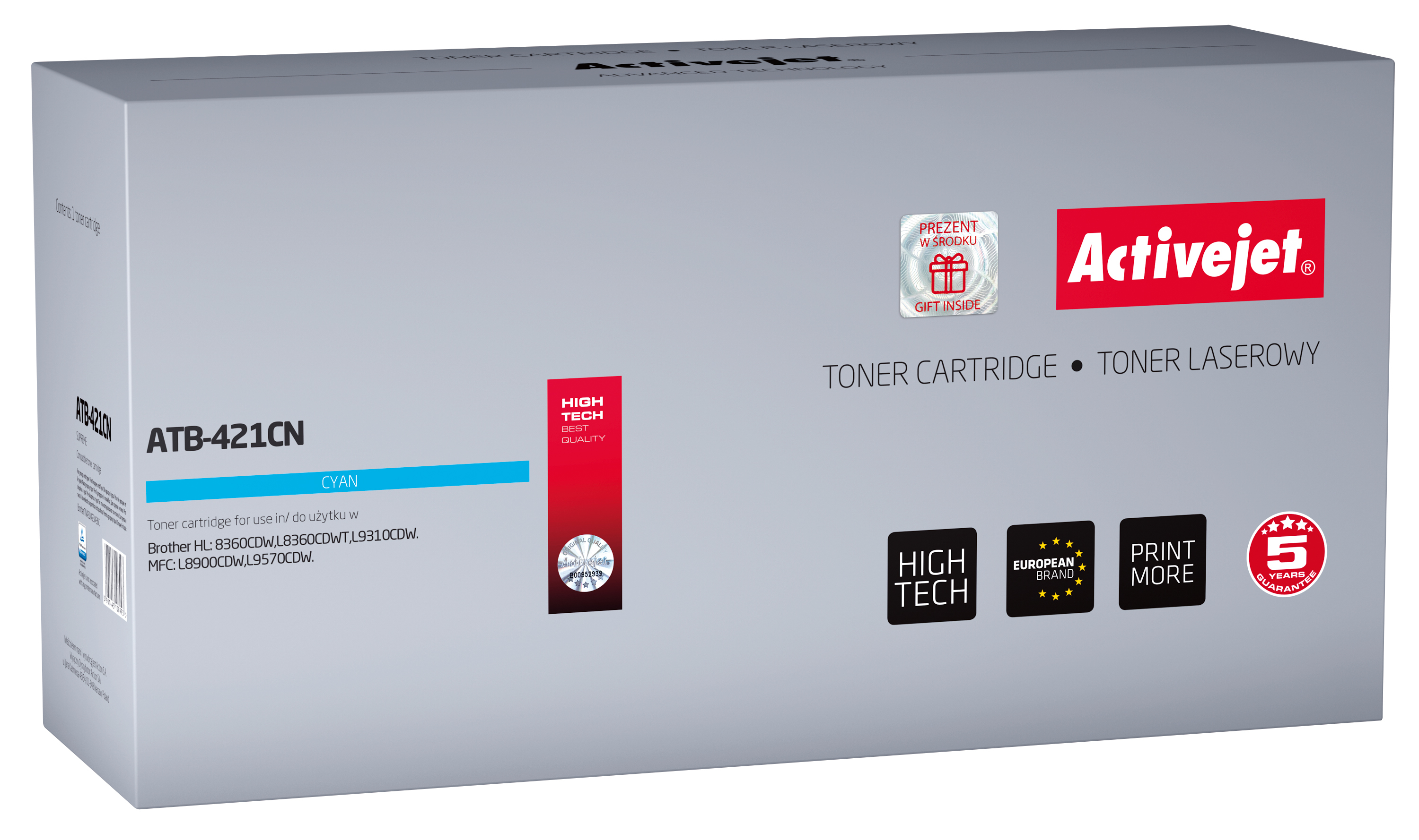 Activejet toner do Brother TN-421C new ATB-421CN