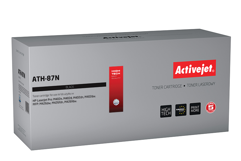 Activejet toner do HP 87A CF287A new ATH-87N