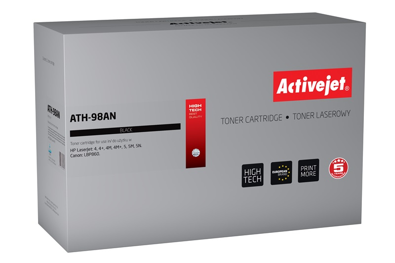 ActiveJet toner do HP 98A 92298A reg ATH-98AN