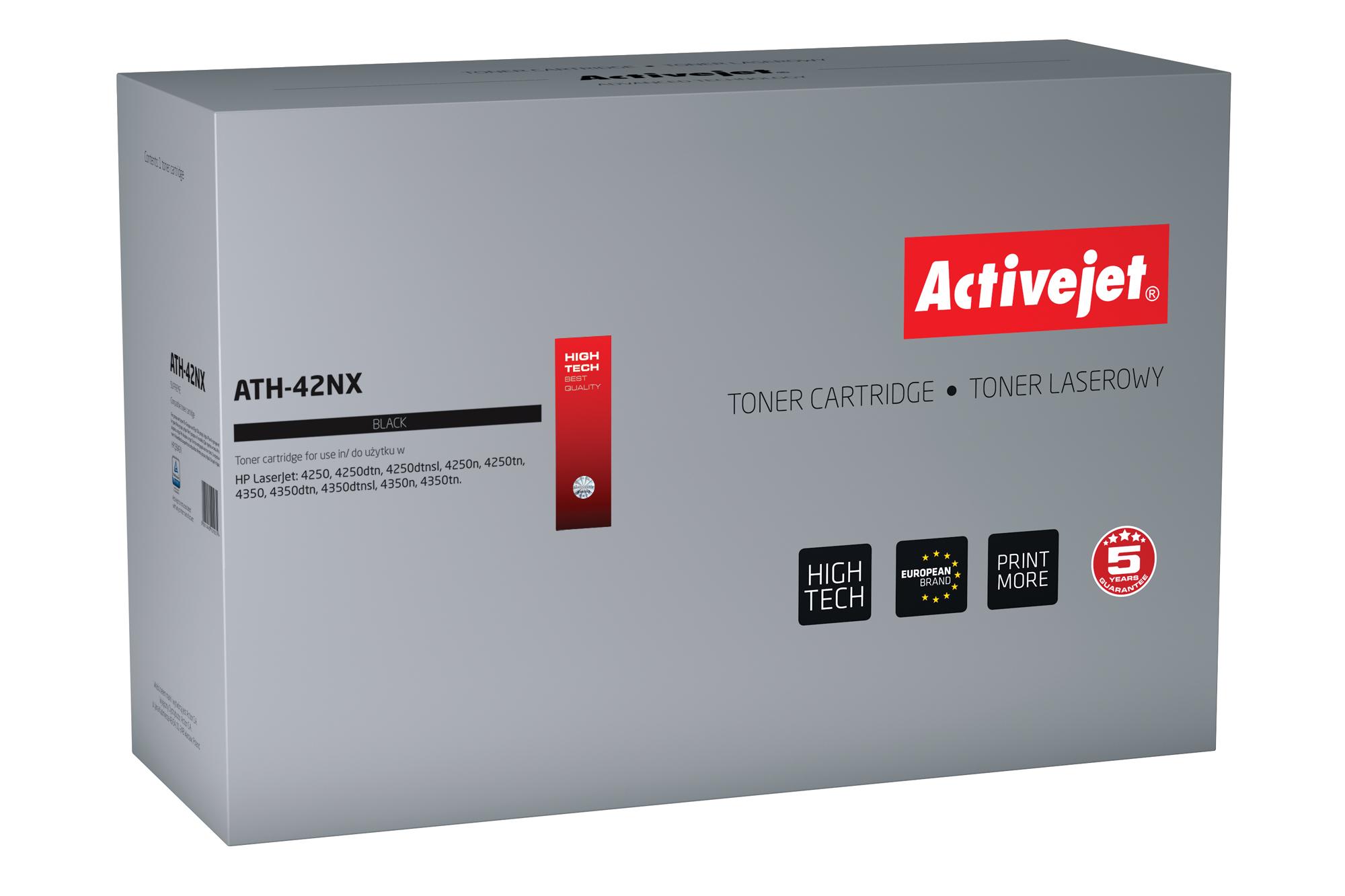 ActiveJet ATH-42N toner laserowy do drukarki HP (zamiennik Q5942A)