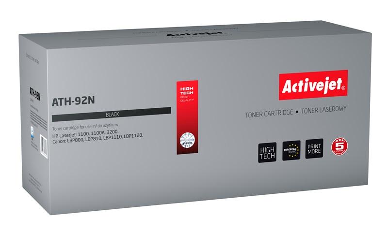 ActiveJet ATH-92N czarny toner do drukarki laserowej HP (zamiennik 92A C4092A) Supreme