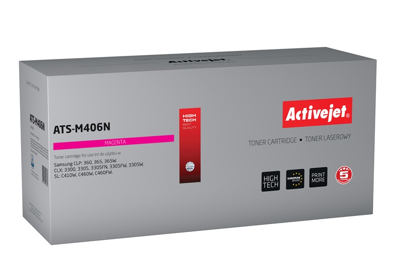 ActiveJet toner do Samsung CLT-M406S new ATS-M406N