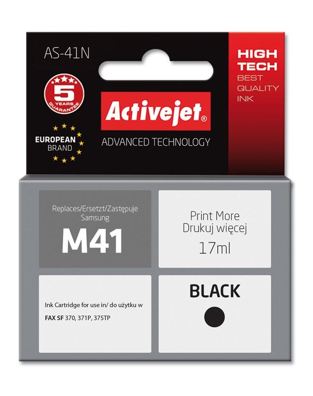 Tusz Activejet AS-41N do drukarki Samsung, Zamiennik Samsung M41;  Supreme;  17 ml;  czarny.
