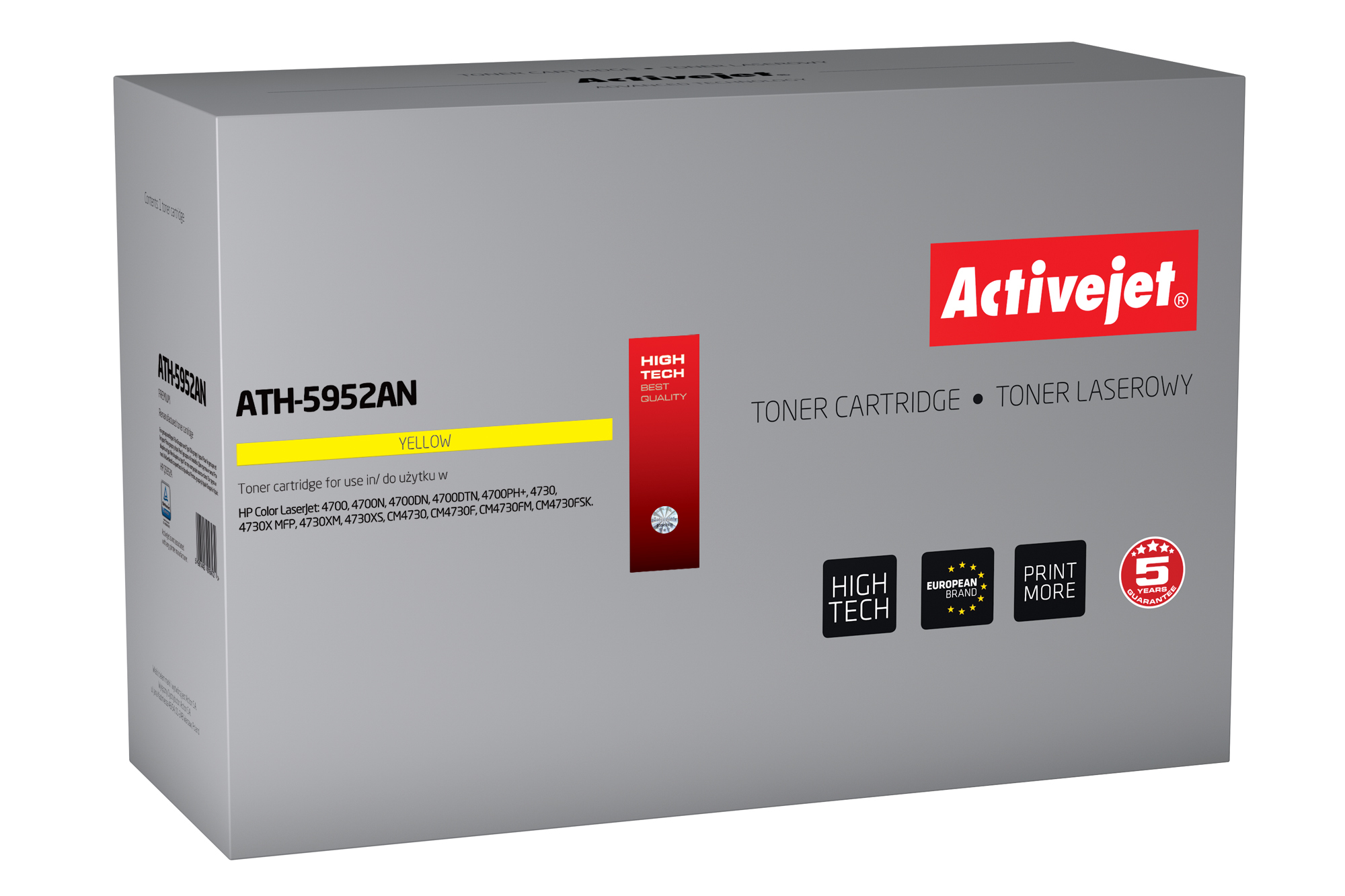 ActiveJet ATH-5952AN toner laserowy do drukarki HP (zamiennik Q5952A)