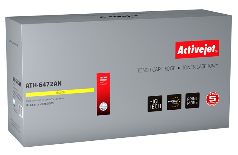 ActiveJet ATH-6472AN toner laserowy do drukarki HP (zamiennik Q6472A)