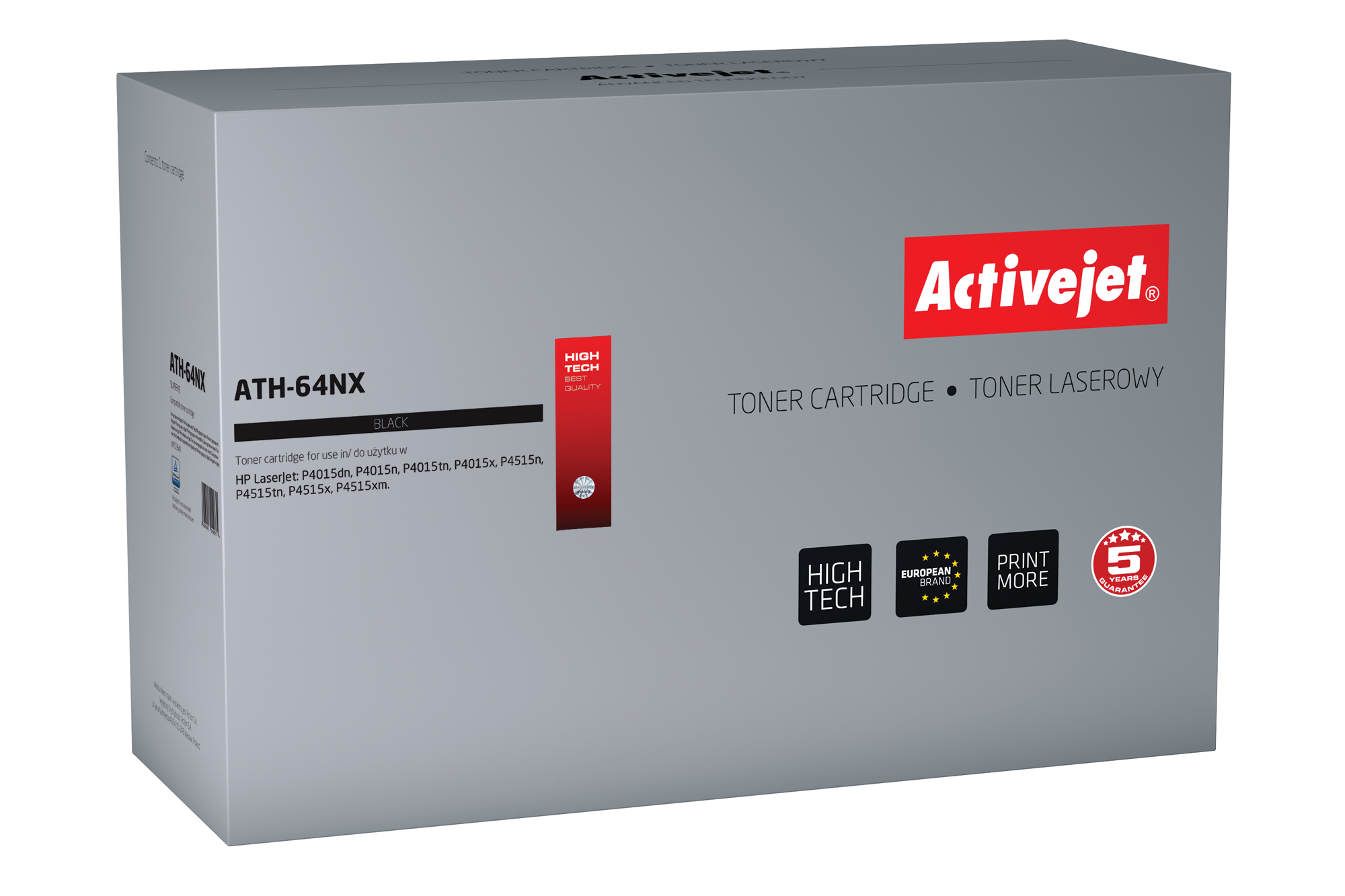 ActiveJet ATH-64NX toner laserowy do drukarki HP (zamiennik CC364X)