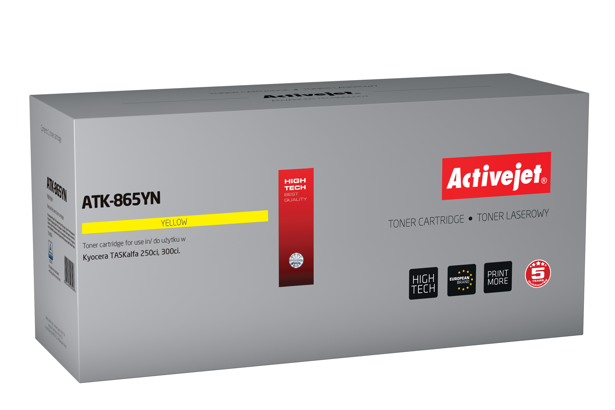 ActiveJet toner do Kyocera  TK-865Y new ATK-865YN