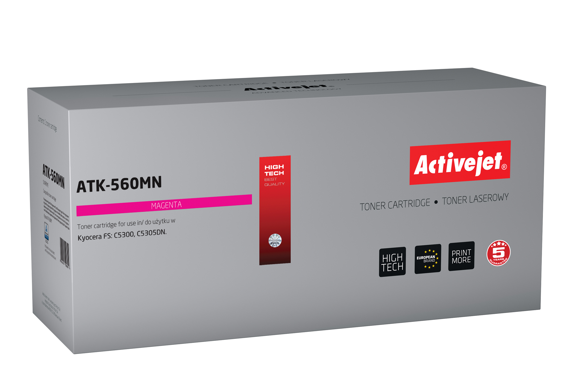 ActiveJet toner do Kyocera TK-560M new ATK-560MN