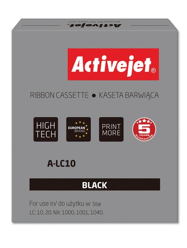 ActiveJet A-LC10 kaseta barwiąca kolor czarny do drukarki igłowej Star (zamiennik LC10)