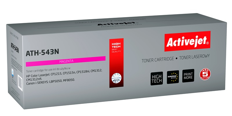 ActiveJet AT-543N toner laserowy do drukarki HP (zamiennik CB543A)