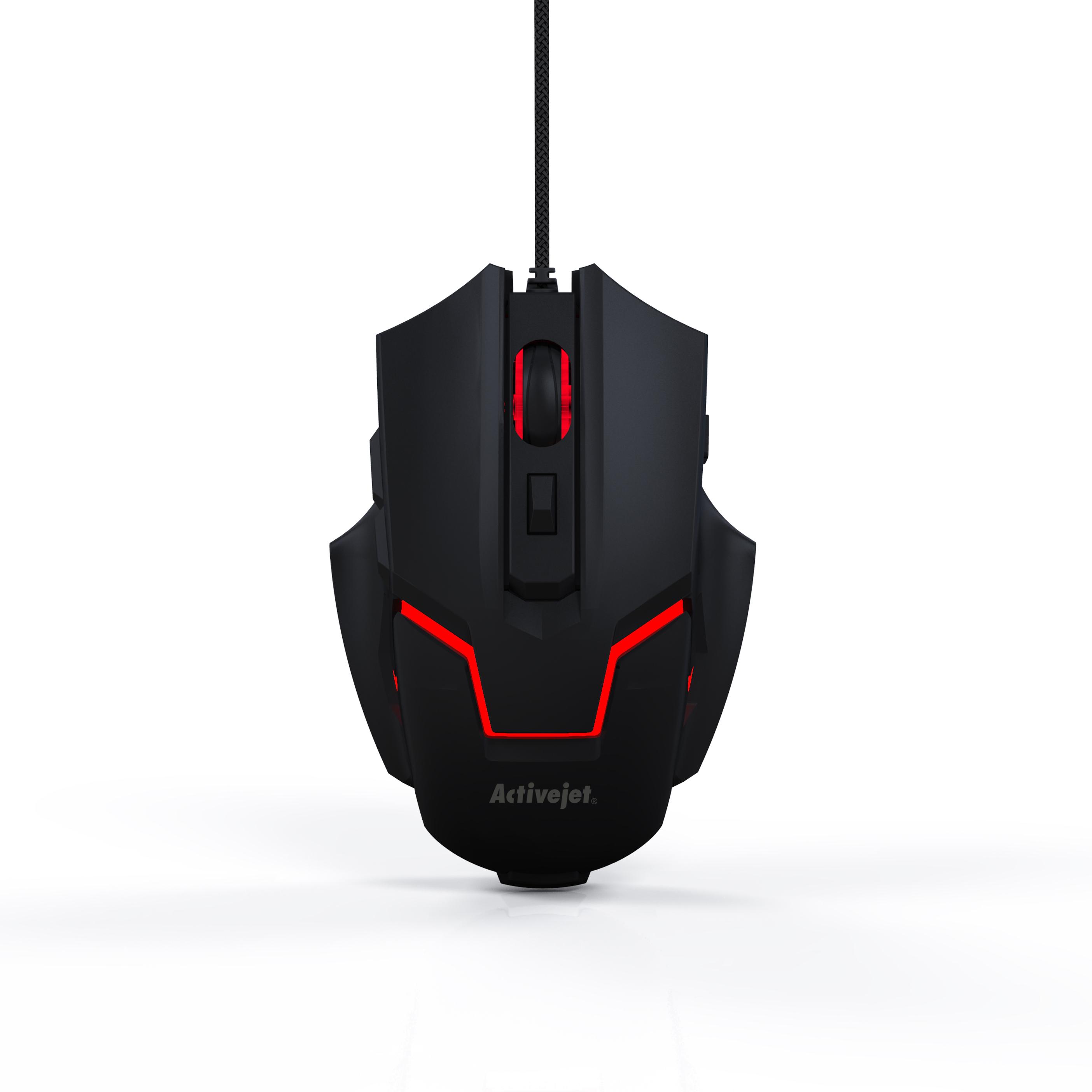Activejet mysz przewodowa Gaming USB AMY-208