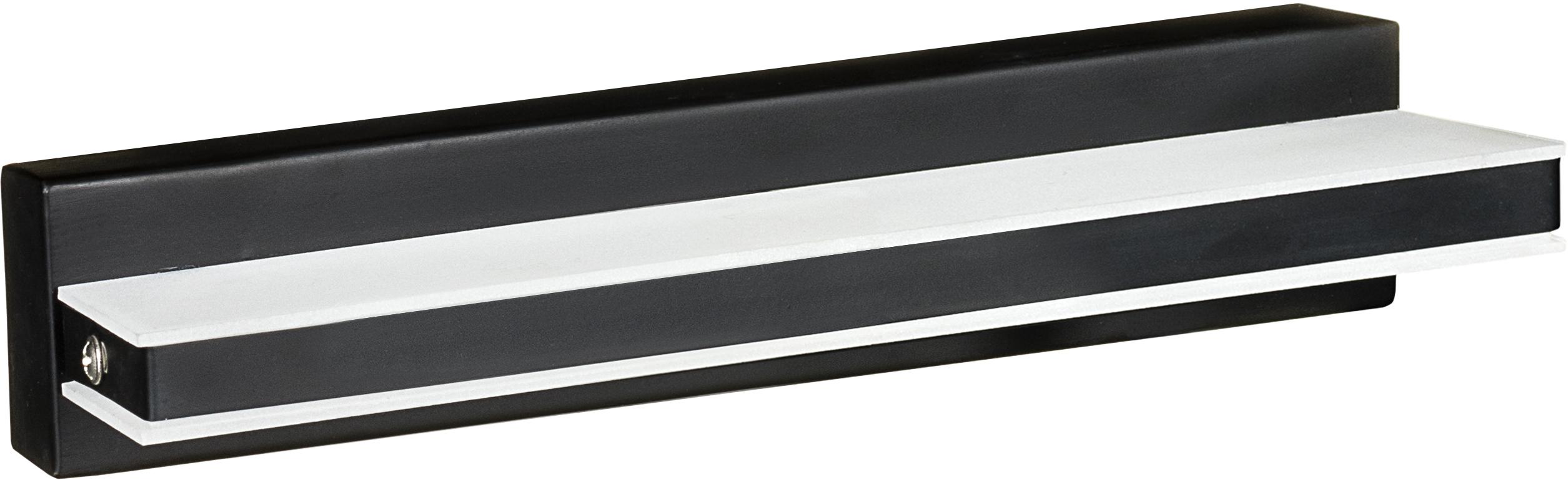 Kinkiet dekoracyjny LED AJE-MERO 1 BLACK IP44