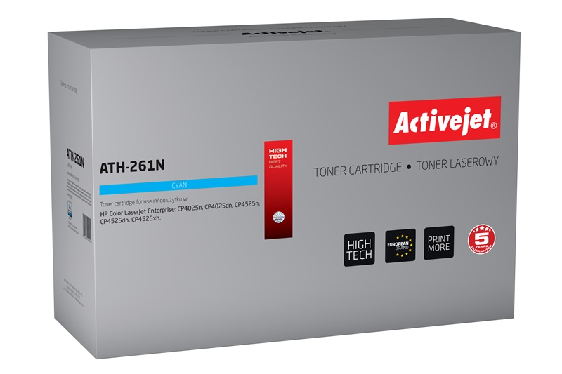 ActiveJet toner do HP CE261A reg ATH-261N