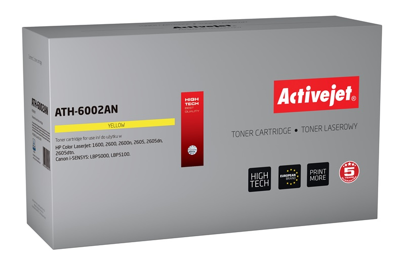 ACJ toner HP 6002A LJ 2600 AT-602Y