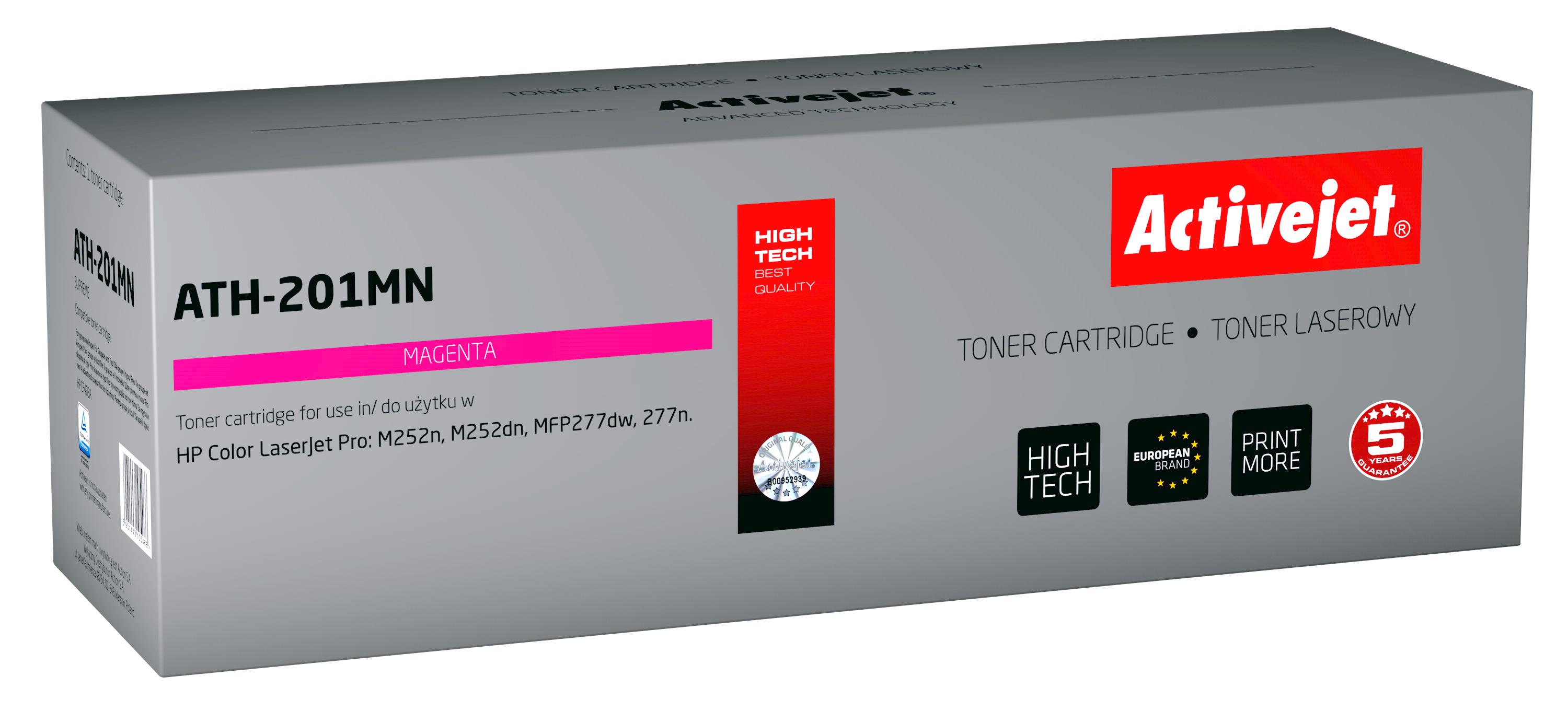 ActiveJet toner do HP CF403A new ATH-201MN
