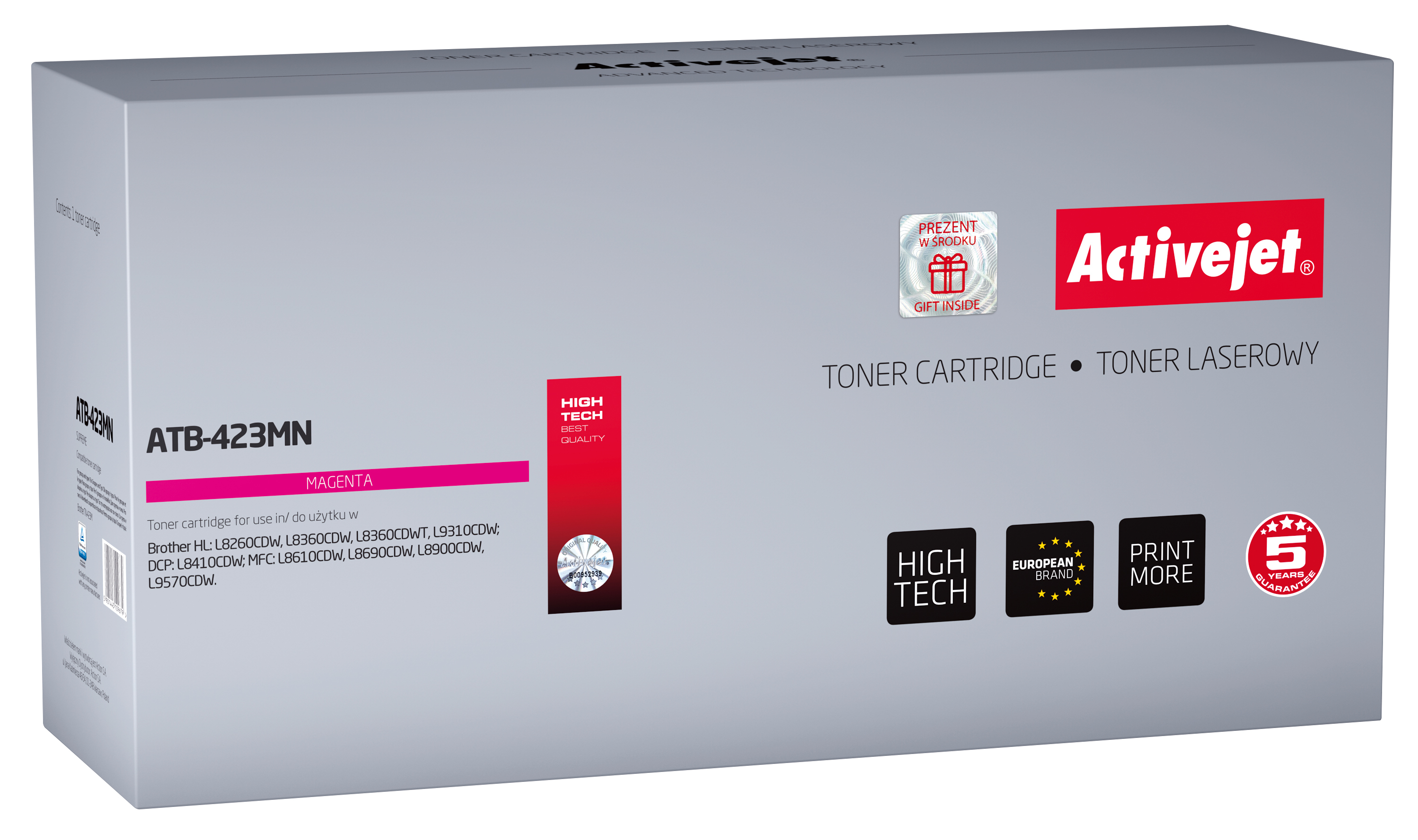 Activejet toner do Brother TN-423M new ATB-423MN