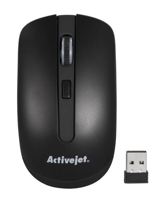 Activejet mysz bezprzewodowa USB AMY-320BK