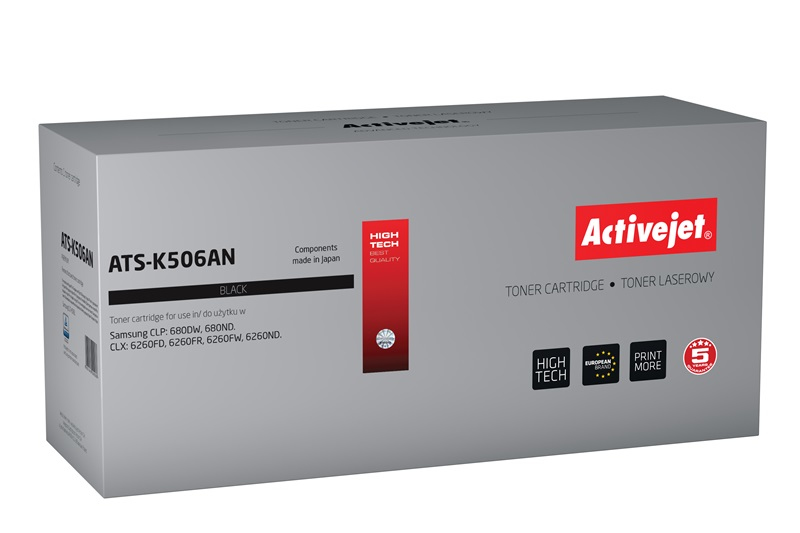 ActiveJet toner do Samsung CLT-K506L reg ATS-K506AN
