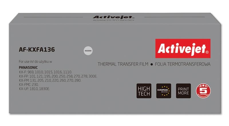 ActiveJet AF-KXFA136 folia kopiująca do faksu Panasonic 2szt. (zamiennik KX-FA13