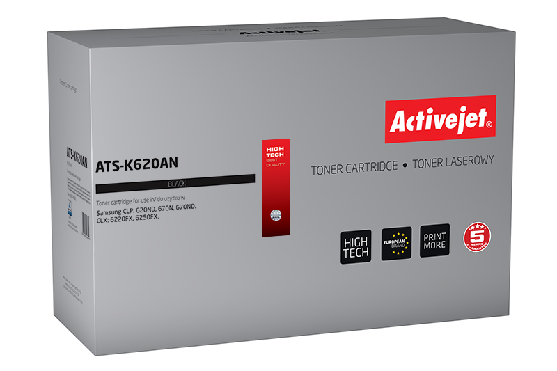 Toner Activejet ATS-K620AN (do drukarki Samsung, zamiennik CLT-K5082L premium 4000str. czarny)