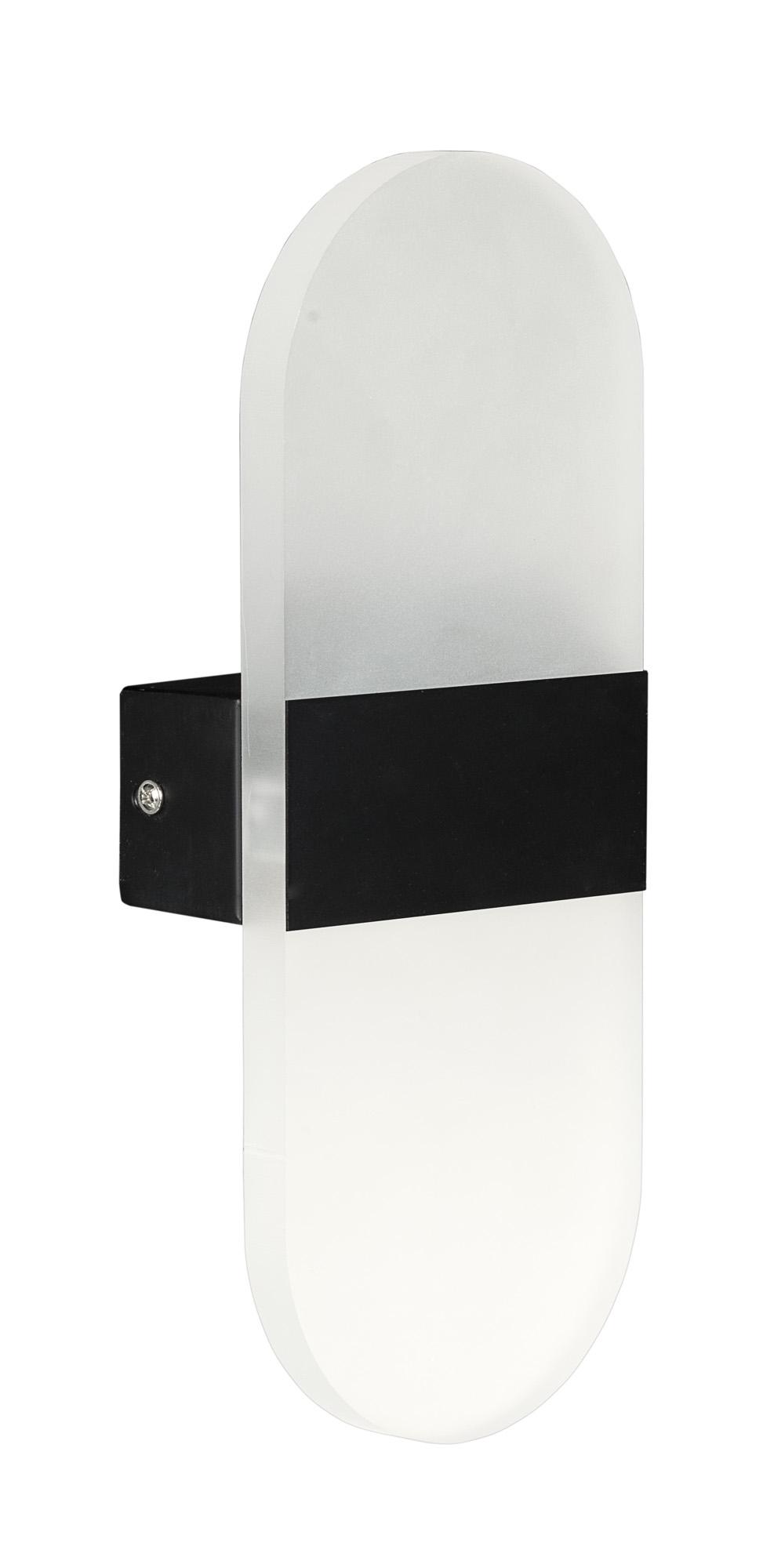 Kinkiet dekoracyjny LED AJE-ISLO BLACK IP44