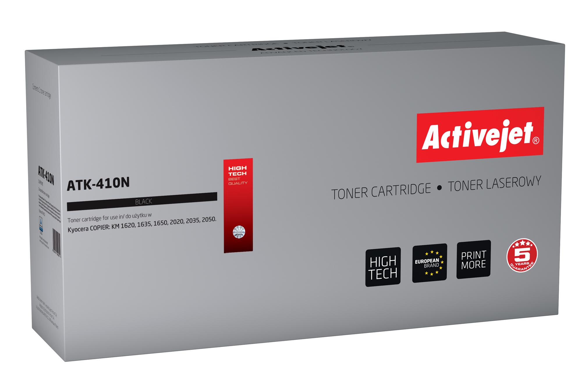 ACJ toner KYOCERA NEW 100% ATK-410N