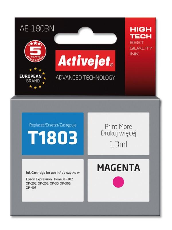 ActiveJet tusz zamiennik Epson T1803 XP-102/202/305 AE-1803N