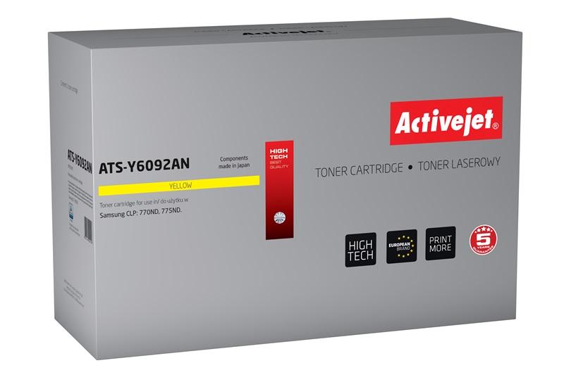 ActiveJet toner do Samsung CLT-Y6092S reg ATS-Y6092