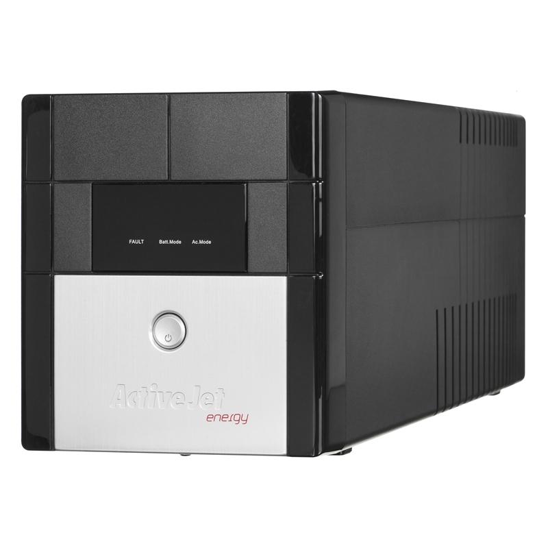ActiveJet UPS AJE-1000VA LCD/USB/4xIEC320/2x7Ah