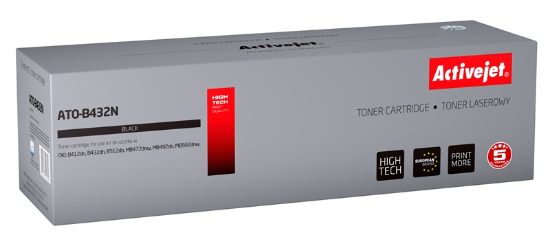 ActiveJet toner do OKI 45807106 new ATO-B432N