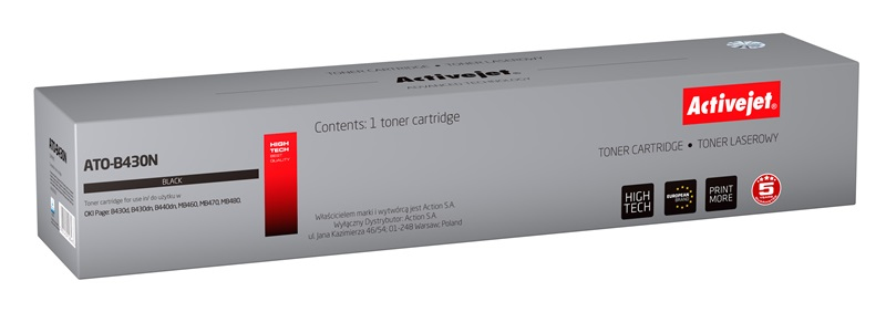 ActiveJet ATO-B430N [AT-B430N] toner laserowy do drukarki OKI (zamiennik 43979202)