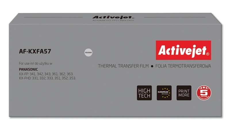 ActiveJet AF-KXFA57 folia kopiująca do faksu Panasonic 2szt. (zamiennik KX-FA57)