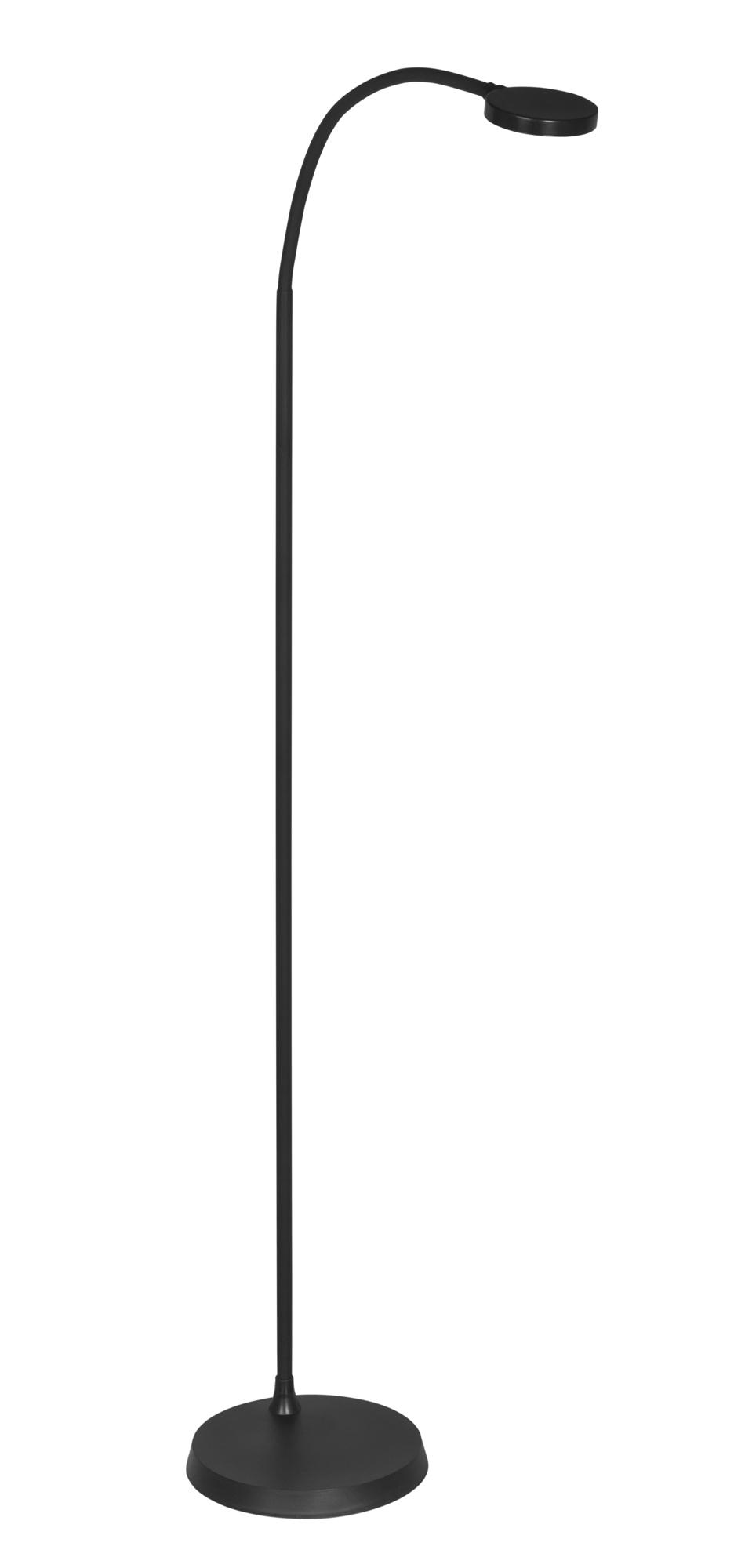 Lampa stojąca - podłogowa LED czarna AJE-ARIA