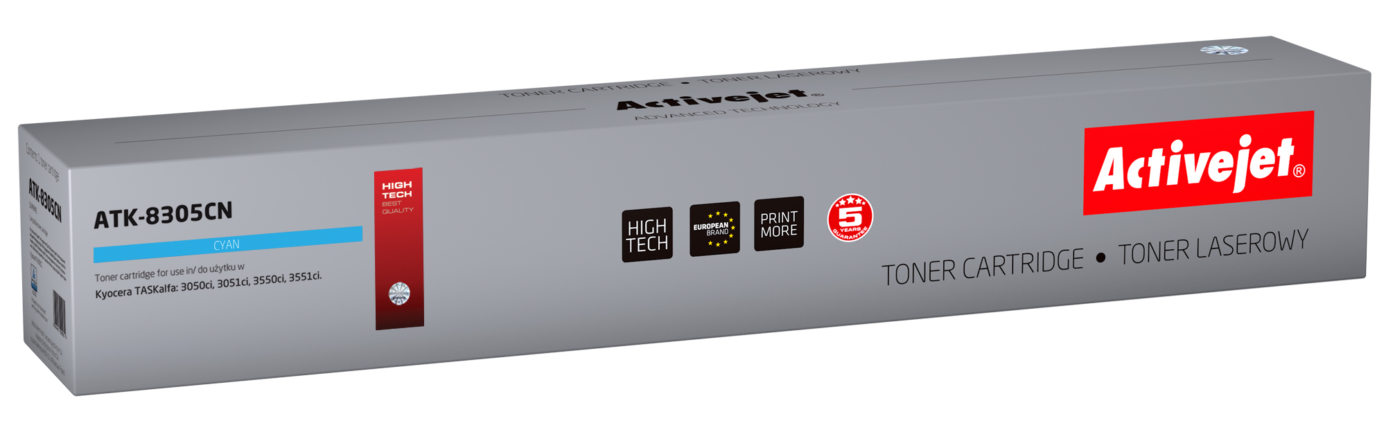 ActiveJet toner do Kyocera TK-8305C new ATK-8305CN