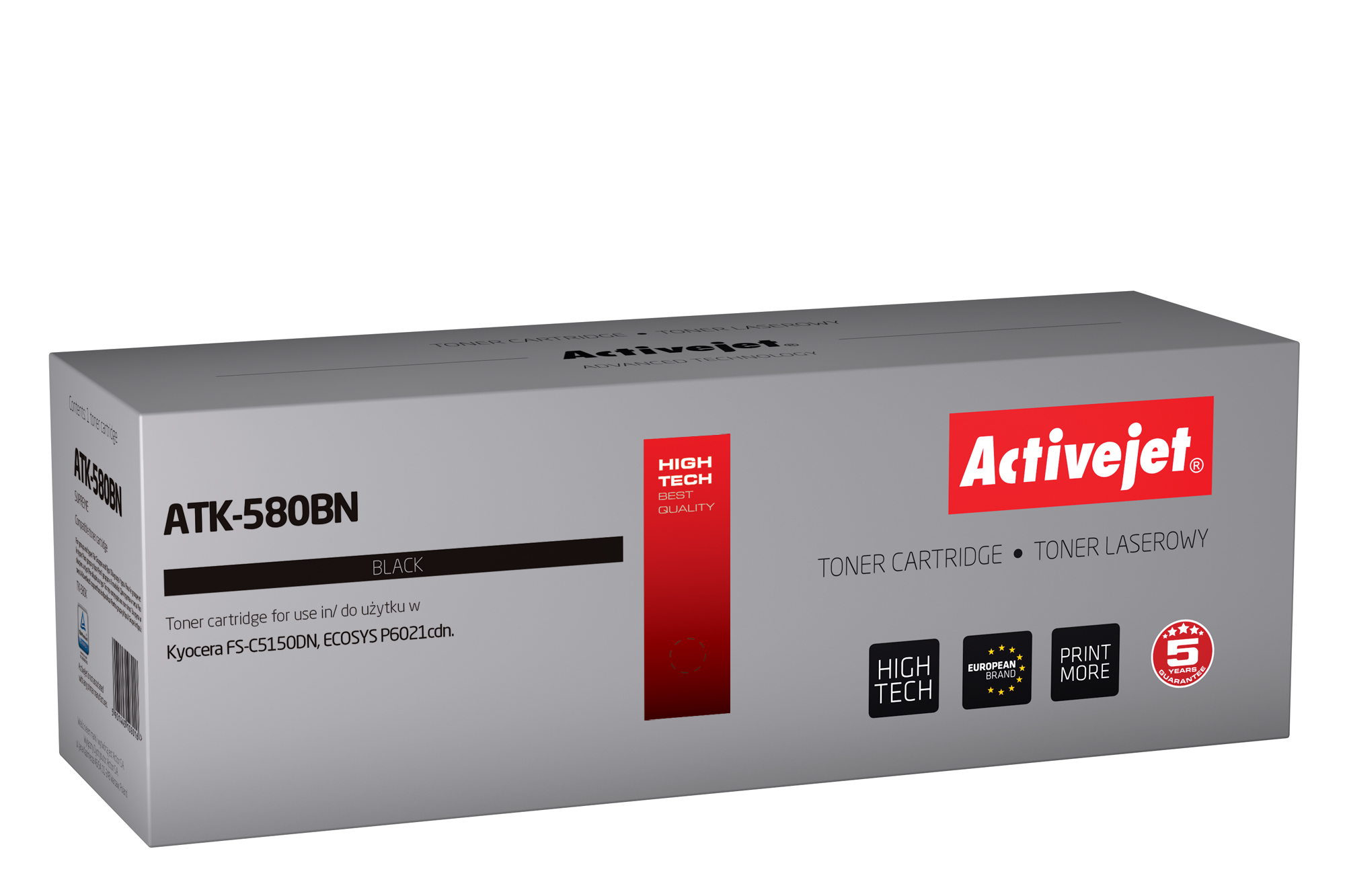 Activejet toner do Kyocera TK-580K new ATK-580BN