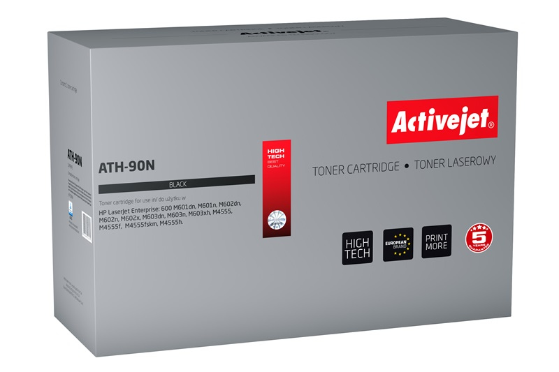 ActiveJet ATH-90N toner laserowy do drukarki HP (zamiennik CE390A)