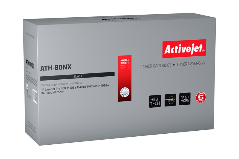 ActiveJet ATH-80NX toner laserowy do drukarki HP (zamiennik CF280X)