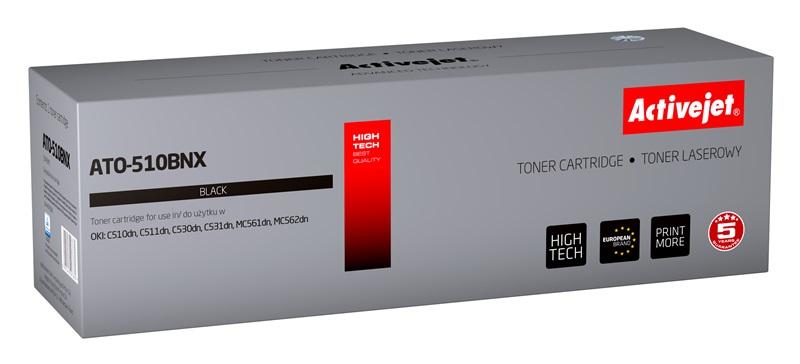 ActiveJet ATO-510BNX czarny toner do drukarki laserowej OKI (zamiennik 44973508) Supreme