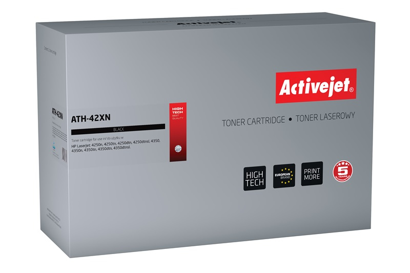 ActiveJet ATH-42XN [AT-42XN] toner laserowy do drukarki HP (zamiennik Q5942X)