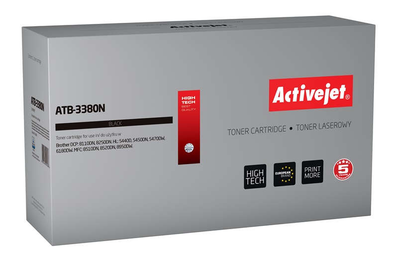 ACJ toner BROTHER NEW 100%  ATB-3380N