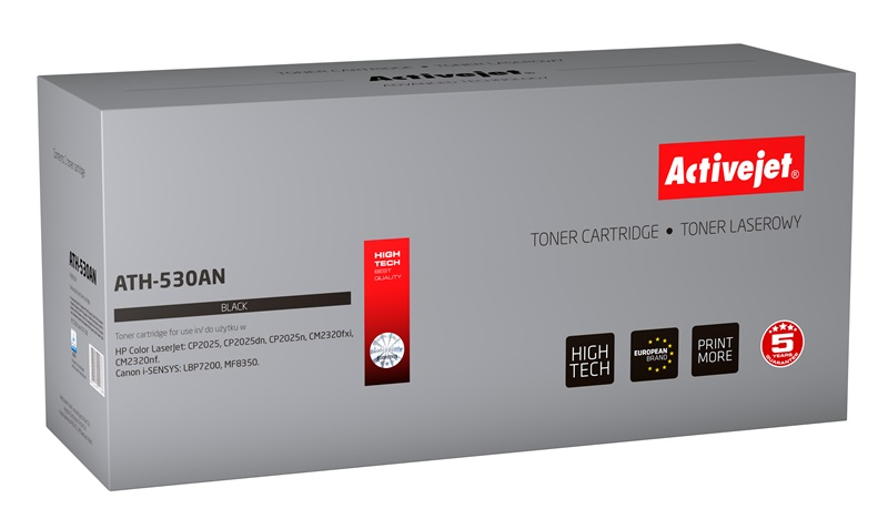 ActiveJet ATH-530AN toner laserowy do drukarki HP (zamiennik CC530A)