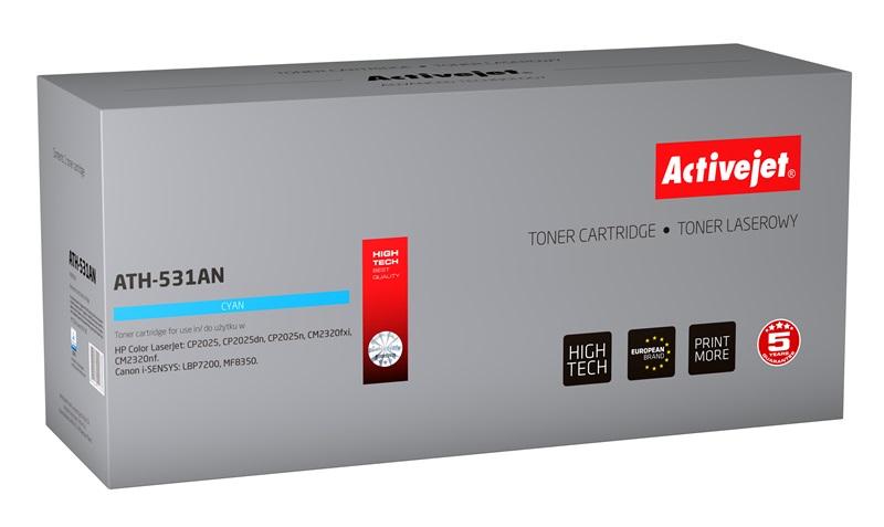 ActiveJet ATH-531AN toner laserowy do drukarki HP (zamiennik CC531A)