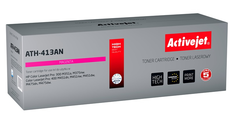 ActiveJet toner do HP 305A CE413A reg ATH-413AN