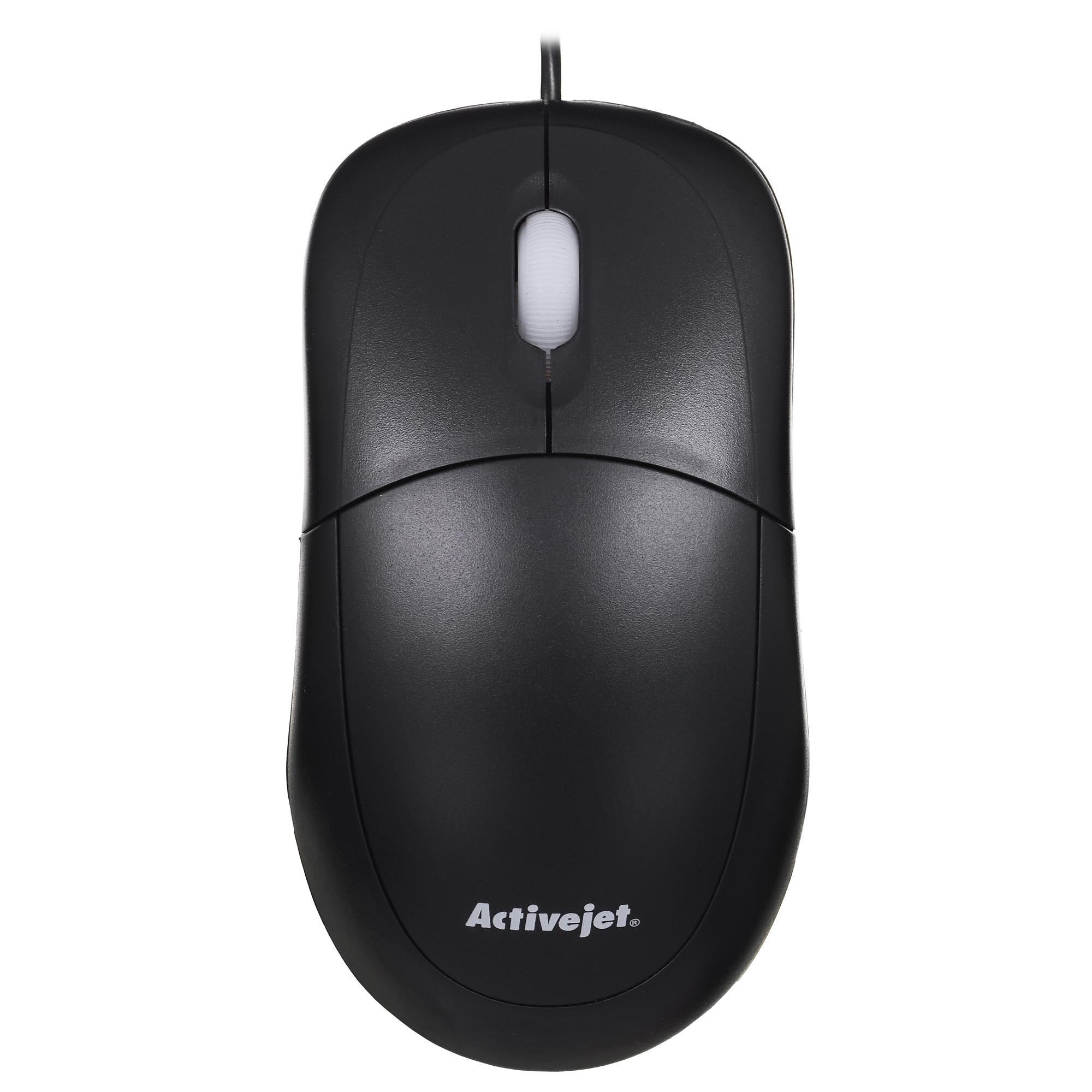Activejet mysz przewodowa USB AMY-146